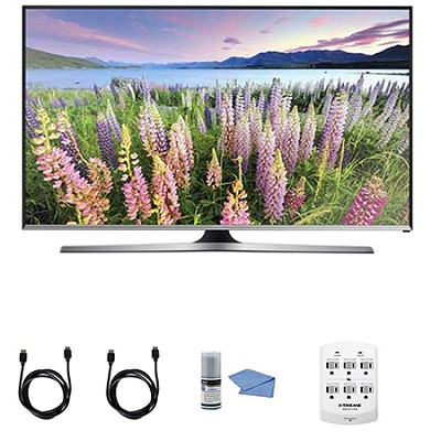 UN50J5500 - 50-Inch Full HD 1080p Smart LED HDTV + Hookup Kit