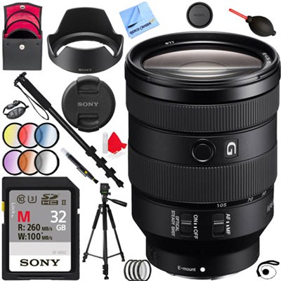 FE 24-105mm F4 G OSS E-Mount Full-Frame Zoom Lens SEL24105G Kit