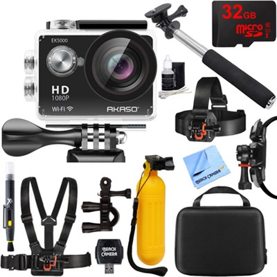 EK5000 1080P Sports Action Camera Full HD Cam 12MP WiFi Waterproof Outdoor Kit