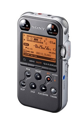 PCM-M10 Digital Audio Recorder (Matte Black)