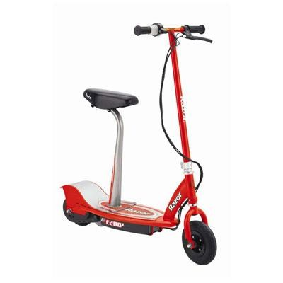 E200S Seated Elec Scooter Red