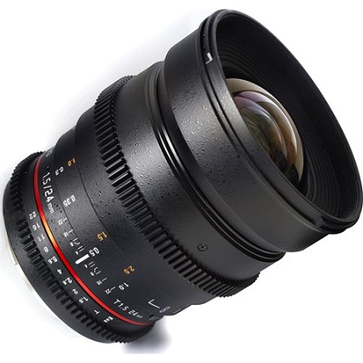 24mm T1.5 `Cine` ED UMC Wide-Angle Lens for Sony E VDSLR