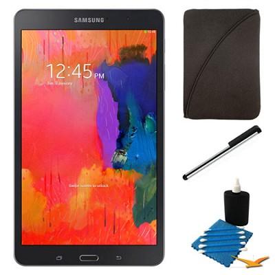 Galaxy Tab Pro 8.4` Black 16GB Tablet and Case Bundle