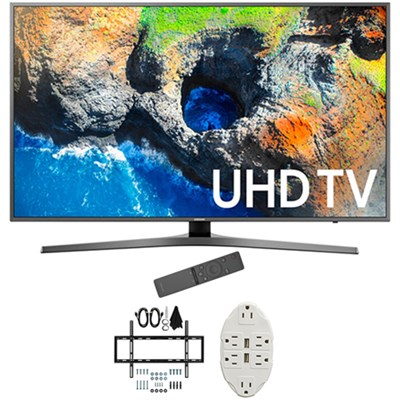 48.5` 4K Ultra HD Smart LED TV 2017 Model with Wall Mount Bundle