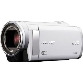 GZ-EX210AUS - HD Everio Camcorder f1.8 40x Zoom 3.0` Touchscreen WiFi (White)