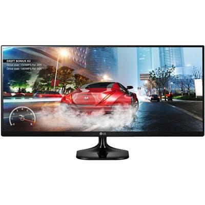 34UM57 - 34` UltraWide 21:9 IPS WFHD LED Cinema ScComp Gaming Monitor - OPEN BOX