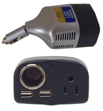 4-Port Car Power Inverter
