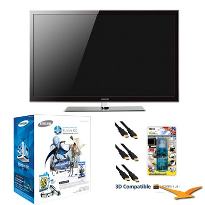 PN59D550 59 inch 1080p 3D Plasma HDTV 3D KIT