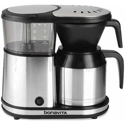 BV1500TS 5-Cup Carafe Coffee Brewer - Stainless Steel