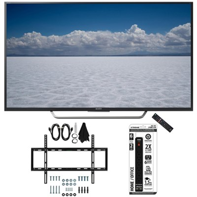 XBR-55X700D - 55` Class 4K Ultra HD TV with Slim Wall Mount Bundle