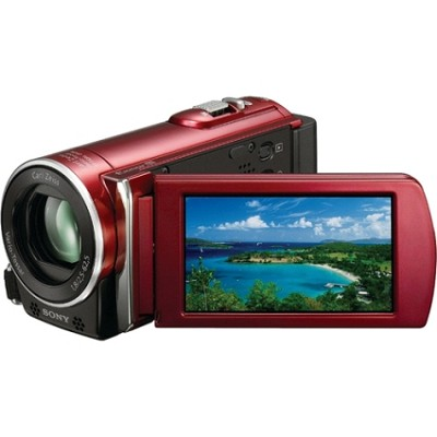 HDR-CX150 Handycam HD Camcorder (Red) - OPEN BOX