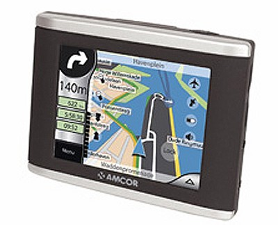 3600 3.5` GPS In-Car Navigation System w/ USB 2.0
