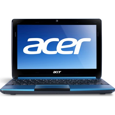 Aspire One AOD257-1646 10.1` Netbook PC (Aqua) - Intel Atom Proc Dual-Core N570