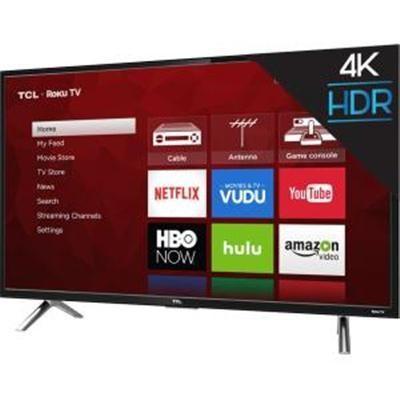 55S405 55-Inch 4K Ultra HD Roku Smart LED TV (2017 Model)
