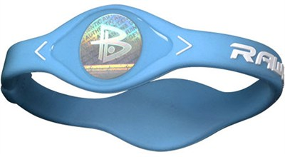 Power Balance Performance Bracelet - Columbia Blue (Medium)