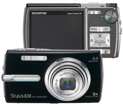 Stylus 830 Digital Camera (Black)