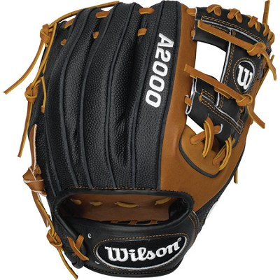 A2000 Superskin Infield Baseball Glove Right Hand Throw Black/Brown 11.25-Inch
