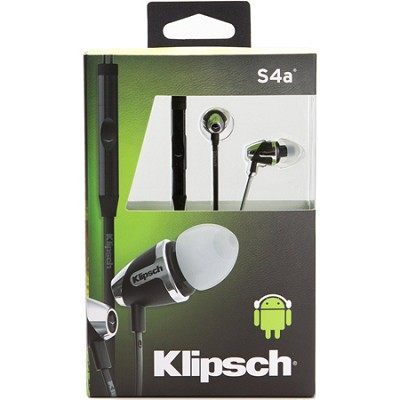 Image S4A II  In-Ear Enhanced Bass Noise-Isolating Headphone ANDROID