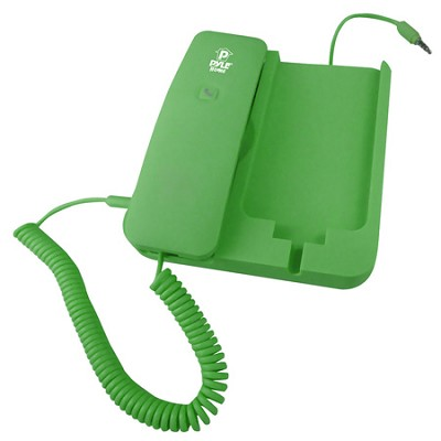 Handheld Phone and Desktop Dock for iPhone,Ipad & Android - Green