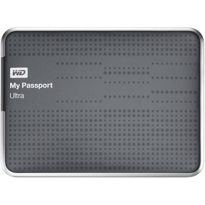 My Passport Ultra 2 TB USB 3.0 Portable Hard Drive -Titanium WD Refurbished