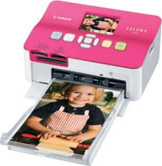 SELPHY CP780 Compact Photo Printer Pink