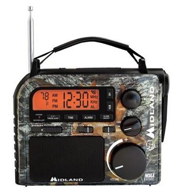 Emergency AM/FM/WX Crank Radio Mossy Oak Camo (ER102MO)