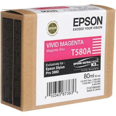 Vivid Magenta Ink Cartridge - T580A00