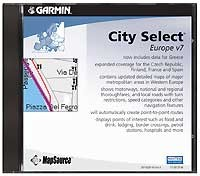 Map Source City Select Europe v7