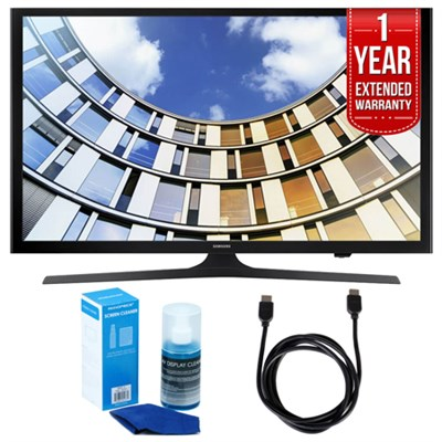 Flat 50-Inch 1080p LED SmartTV (2017 Model) + Extended Warranty Bundle