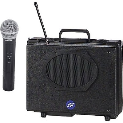 SW223 Audio Portable Buddy PA System (Includes Handheld Microphone)