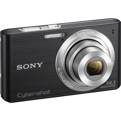 Cyber-shot DSC-W610 Black 14.1 MP Compact Digital Camera