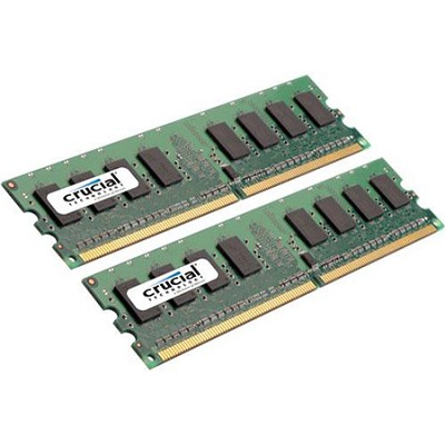 2GB kit (1GBx2), 240-pin DIMM, DDR2 PC2-6400, NON-ECC,