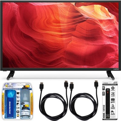 E32-D1 32-Inch 120Hz SmartCast Full-Array LED 1080p HDTV w/ Accessory Bundle