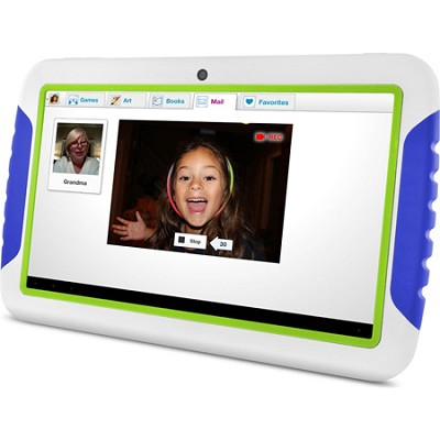 FunTab XL 9` Multi-Touch Screen Kid Safe Blue Tablet w/ Android 4.1, OPEN BOX
