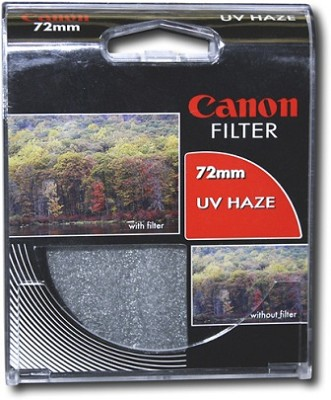 72mm UV Protective Filter--offers lens protection & clearer pictures