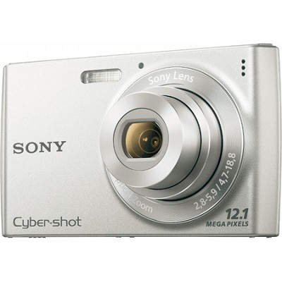 Cyber-shot DSC-W510 Silver Digital Camera