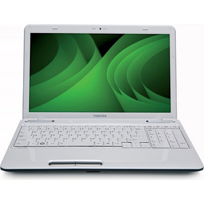 Satellite 15.6` L655-S5156WH Notebook PC - White Intel Pentium P6200 Processor