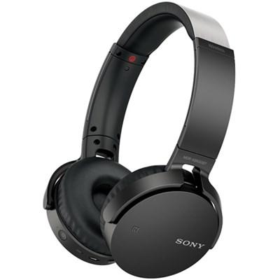 MDR-XB650BT XB Series Wireless Bluetooth Headphones w/ Extra Bass - Black