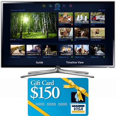 UN50F6300 50 inch 1080p 120hz Slim LED Smart HDTV WiFi Bundle