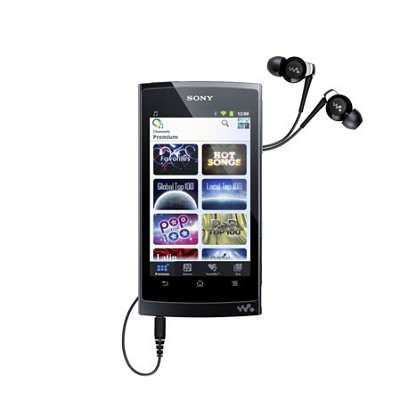 NWZ-Z1060BLK Walkman Mobile Entertainment Player 32GB