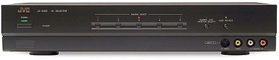 JX-S555 Active A/V Source Selector w/ Component Video Switching