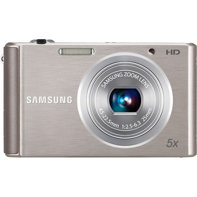 ST76 16 MP 5X Compact Digital Camera - Silver