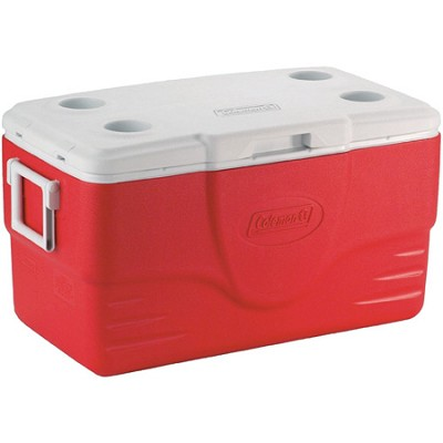 50-Quart Cooler - Red