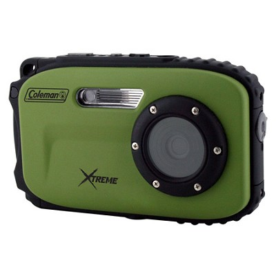Xtreme C5WP 12MP 33ft. Waterproof Camera, Anti-Shake, (Green) - OPEN BOX