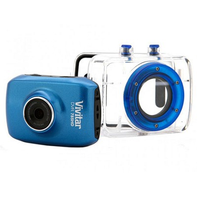 HD Pro Action Camcorder (Blue) - DVR785HD-BLU