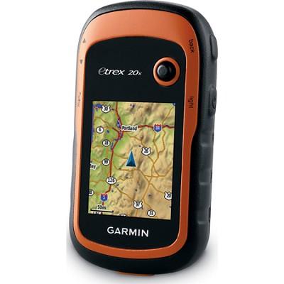 eTrex 20x Handheld GPS - 010-01508-00