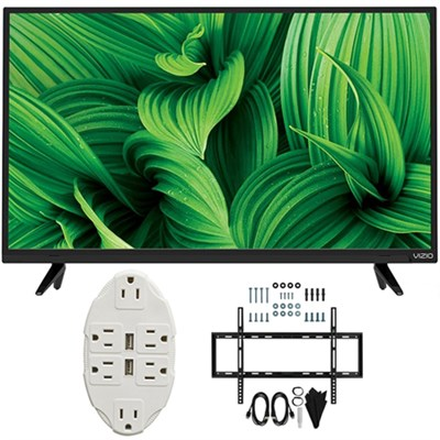 D-Series 48` Full Array LED TV 2017 Model D48n-E0 with Wall Mount Bundle
