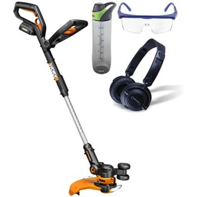 20V Cordless Lithium Grass Trimmer/Edger & Mini Mower w/ Accessories Bundle