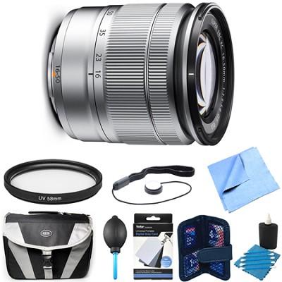 Fujinon XC 16-50mm (27-76mm) F3.5-5.6 OIS Silver X-Mount Lens Bundle