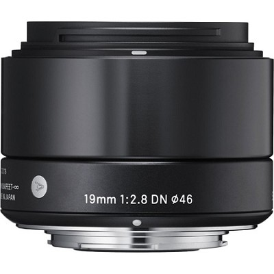 19mm F2.8 EX DN ART E-Mount Lens for Sony (Black)